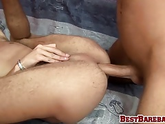 Adorable twinks Filip and Ian in a rough bareback action