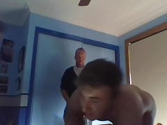 Little Dick Bitch Breed By 2 Hung Guys
