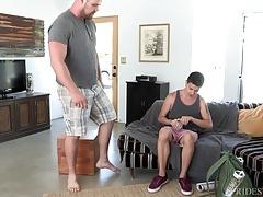 Twinky Teen Ass Fucked by Neighborhood Bear
