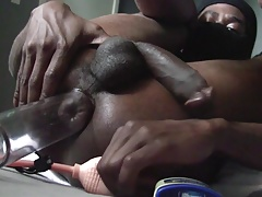 Ass Monkey - Backdoor BJ's, twink go Balls Deep on huge cock