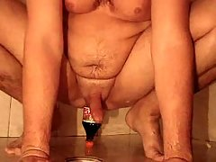 Irrepressible fisting & insertion of the bottle