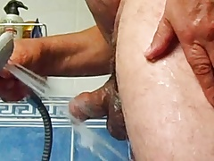 SMALL COCK UNDER THE SHOWER