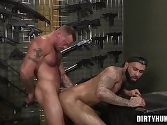 Muscle bear anal and facial