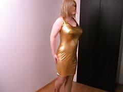 Gold dress 2