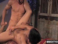 Arab bear anal with anal cumshot