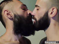 Bearded wolf slamming tight asshole