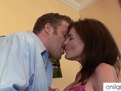 Bigtit cougar gets a sticky creampie