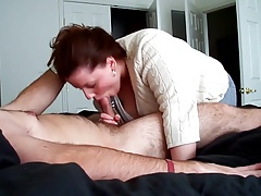 Girlfriend Blowing Her Boyfriend 14