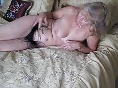 Amateur, Negro, Masturbación, Maduro, Esposa