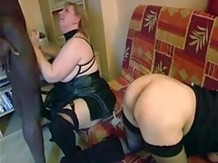 French mature fisted and fucked with bbw friend