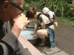 Tussi, Spermaladung, Behaart, Japanische massage