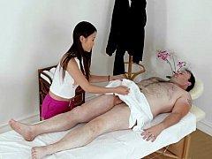 Asiatique, Chinoise, Branlette thaïlandaise, Massage, Chatte, Chevaucher