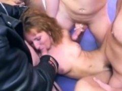 hot german bukkake chick