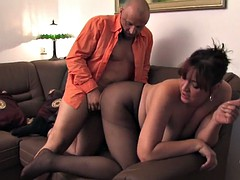 pantyhose girl gets fucked