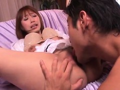 Tiara Ayase amazes with her mouth and tight pussy