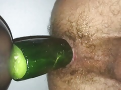 Riding fat cucumber