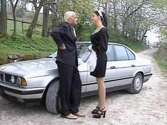 Dirty Maid Takes A Cock