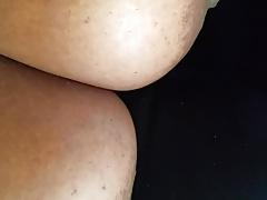 Cum On Huge Boobs In Car