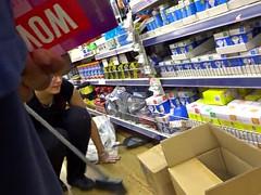 Shopworker Displays Sexy Ass