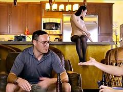 Super Horny Wife Fucks Her Husband's Friend