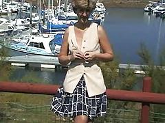 UK Sara, at the marina