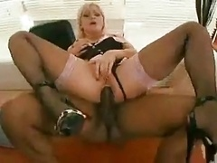 Anal Action In The Office