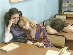 Лесбиянка, Рыжие, Русские, Учитель