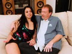 Latina Tits Slut Wife Fucks Big White Cock