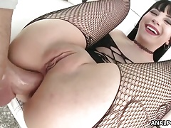 Best anal gaping with Charlotte Sartre