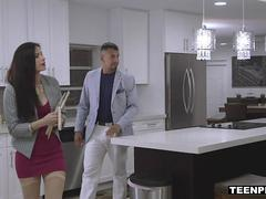 TeenPies - Seductive Realtor Fucked and Creampied