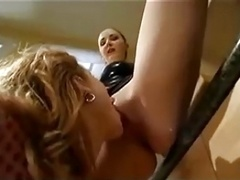 Dominated & strap-fucked
