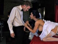 Bride gets a Fat Dick