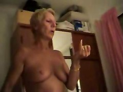 Nudist Filming His Wife Giving him head At Home
