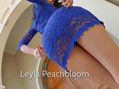 AssTraffic Leyla peachbloom gets rough and nasty ass fuck