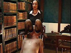 Chair Face-sitting With Ass And besides Vagina Worship