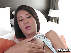 Big titted asian shemale