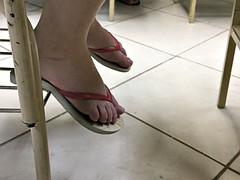 Candid feet #154