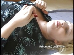 Lactating Mom Spraying Milk From