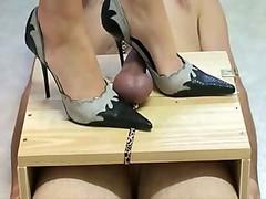 High Heels Torturing Knob