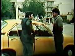 Griechisch, Gruppe, Behaart, Vintage