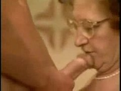 Granny With Glasses Birthday Fucked By Y