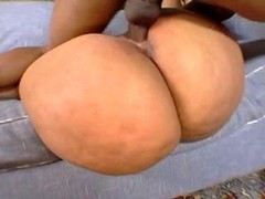 bbw black chick with a large ass fucked