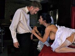 Bride gets a Fat Dick