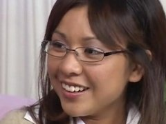 Asian in glasses fucked
