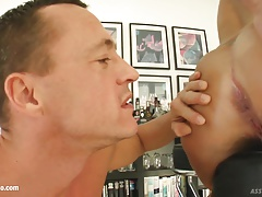 Victoria gets her ass fucked anal on Ass Traffic