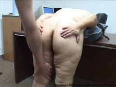 Big Butt Mexican BBW Granny Maid Gets Abused