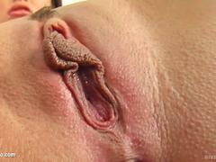 Solo hottie Maya Bee masturbating on Give Me Pink with passion
