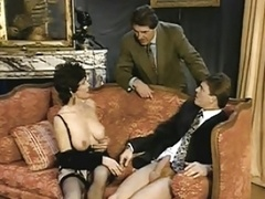 Short Hair Female, Gigolo And moreover Cuckold