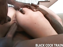 We need to train your ass for a really big black cock