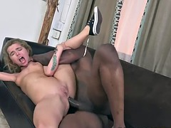 Alina West Gets Her First Interracial Anal Fuck